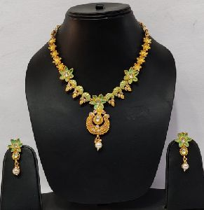 Matte Finish Necklace Set