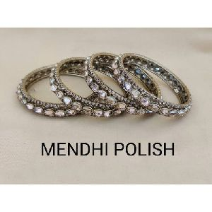 Mendhi Polish Bangles