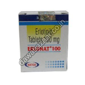 Erlotinib 100mg Tablets
