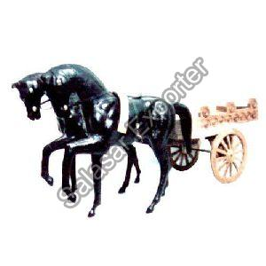 Wooden Horse Cart