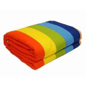 Striped Cotton Quilt