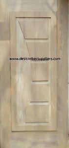 African Teak Wood Door