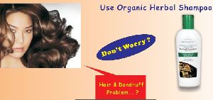 Organic Anti-Dandruff Herbal Hair Shampoo