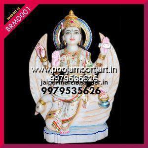Marble Brahmani Maa Statues