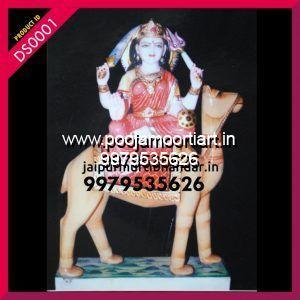 Marble Dasha Maa Statues