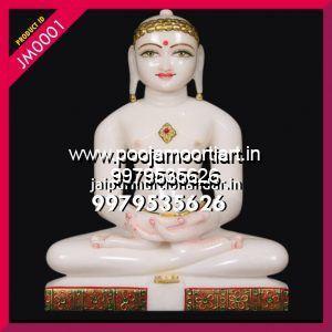 Marble Jain Mahaveer Statues