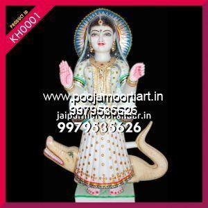 Marble Khodiyar Maa Statues