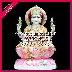 Marble Laxmi Maa Statues