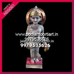 Marble Navdurga Maa Statues