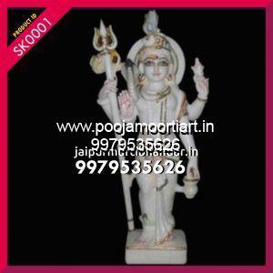 Marble Shiv Shankar Statues