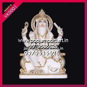 Marble Vishvakarma Statues