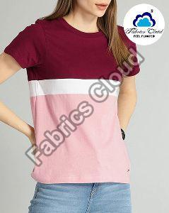 Womens Color Block T-Shirts