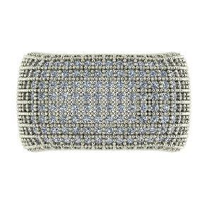 1.50 Carat Unisex Hip Hop Diamond Rings Craft In 14k White Gold