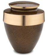 Eternity Speckled Auburn Cremation Urn
