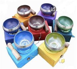 Seven Chakra Singing Bowl Set