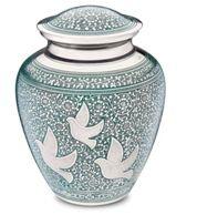 Soaring Doves Cremation Urn