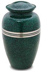 Speckled Emerald Cremation Urn