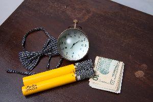 Paper Weight Clocks
