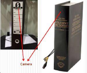 Customized Book Wifi Hidden Camera