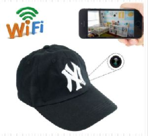 Cap WiFi Hidden Camera