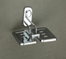 Keri Series Stainless Steel Double Soap Dish