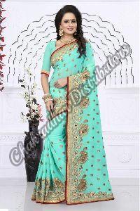 Aradhana Georgette Silk Designer Saree