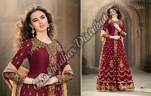 Ladies Bangalori Silk Suit