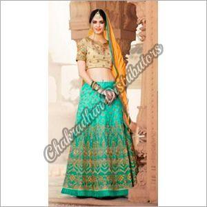 Pure Banarasi Silk Lehenga