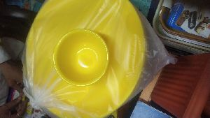 Plastic Dinner Plate And Bowl Set