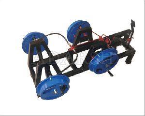 Hydraulic Drum Brake Actual Working (Four Drum)