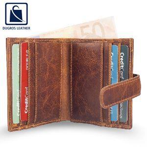 Leather Fancy Wallet
