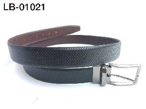 LB-01021 Leather Reversible Belt