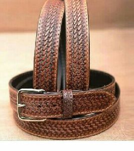 Hand Tooling Work Leather Belt