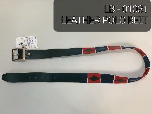 LB-01031 Leather Polo Belt