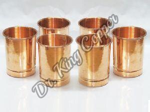 6 Piece Copper Glass Set