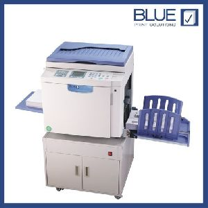 Digital Printing Press - Blue