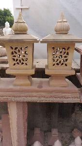 Stone Enterance Lamp