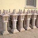 Stone Standing Lamp