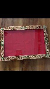 Gold Leaf Wooden Photo Frame
