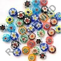 Furnace Millefiori Beads