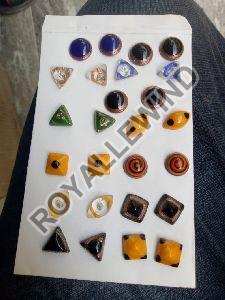 Glass Beads Earrings