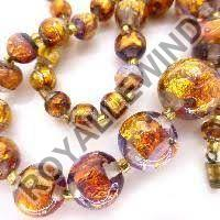 Gold Foil Beads