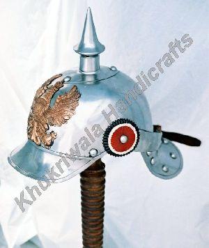 H117 Steel Pickelhaube Helmet