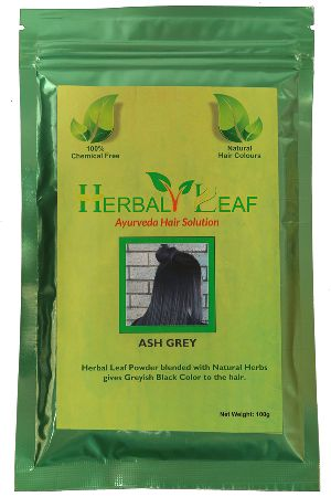 Herbal Leaf Ash Grey Hair Powder