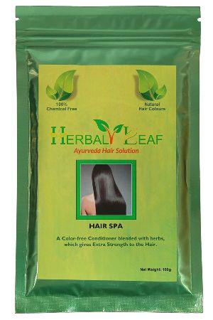 Herbal Leaf Hair Spa Powder