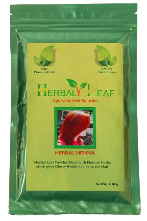 Herbal Henna Leaf Hair Powder