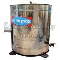 Hydro Extractor With Foot Operated Brake Top Loading