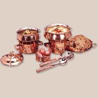 Copper Handi Set
