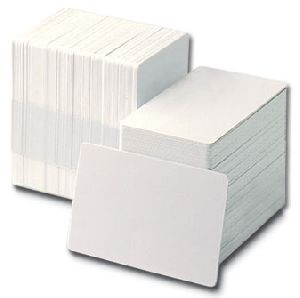 Plastic Plain Cards