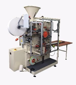 Double Chamber Tea Bag Making Machine